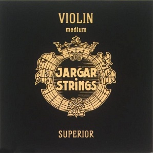Violin-D-Superior Отдельная струна Ре/D для скрипки, среднее натяжение, Jargar Strings